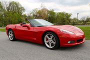 2006 Chevrolet red convertible